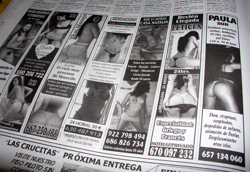 prostitutas en mil anuncios comprar prostitutas