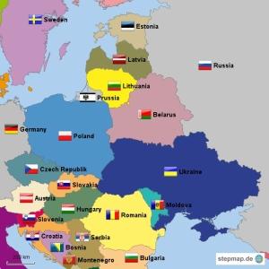 Prussia map