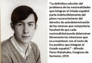 Rubalcaba Suresnes 1974 derecho de autodeterminación